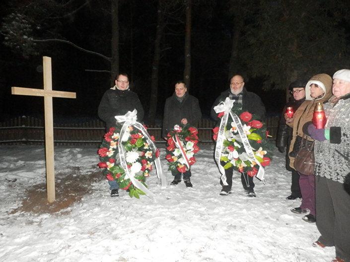 3 grudnia 2016 roku w Pabrade (pol. Podbrodzie), miejscowości położonej niedaleko Wilna, będącej skupiskiem mniejszości polskiej na Litwie - litewskiej Polonii, odbyły się uroczystości poświęcone trudnemu okresowi stosunków polsko-litewskich.