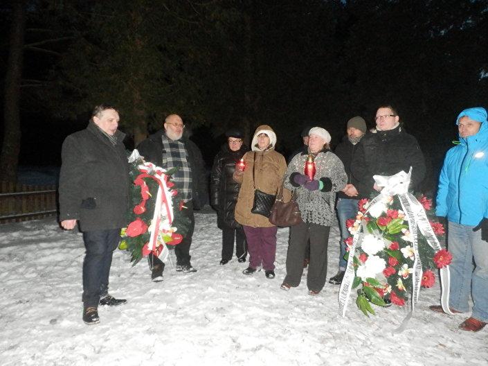 Uroczystości zostały zorganizowane przez organizacje polonijne i społeczne z Polski. Uroczystość ta miała na celu upamiętnienie kolejnego miejsca polskiej martyrologii.