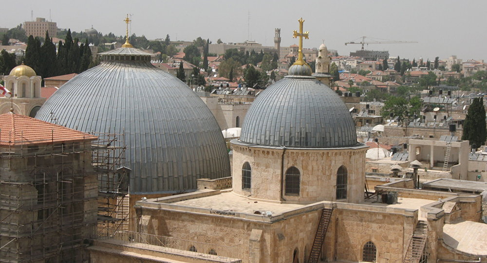 Grób Jezusa Chrystusa w Bazylice Grobu Świętego w Jerozolimie jest tym samym grobowcem, który w IV wieku odnalazła Helena, matka cesarza Konstantyna I Wielkiego