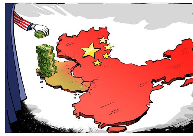 Tybet zapleczem USA