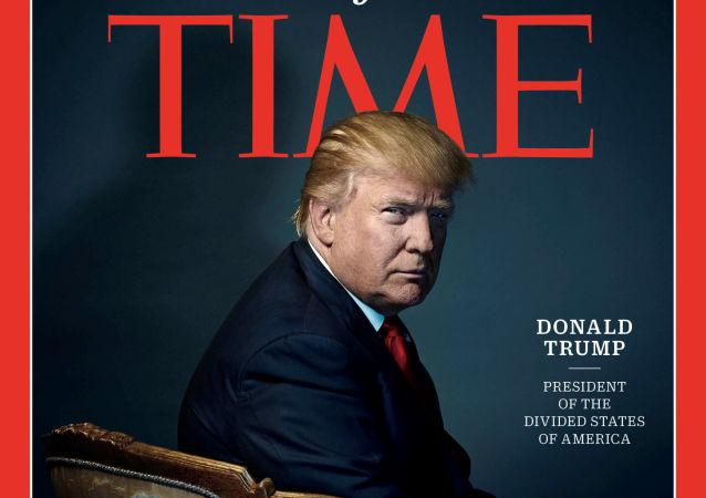 Donald Trump, Time, 2016