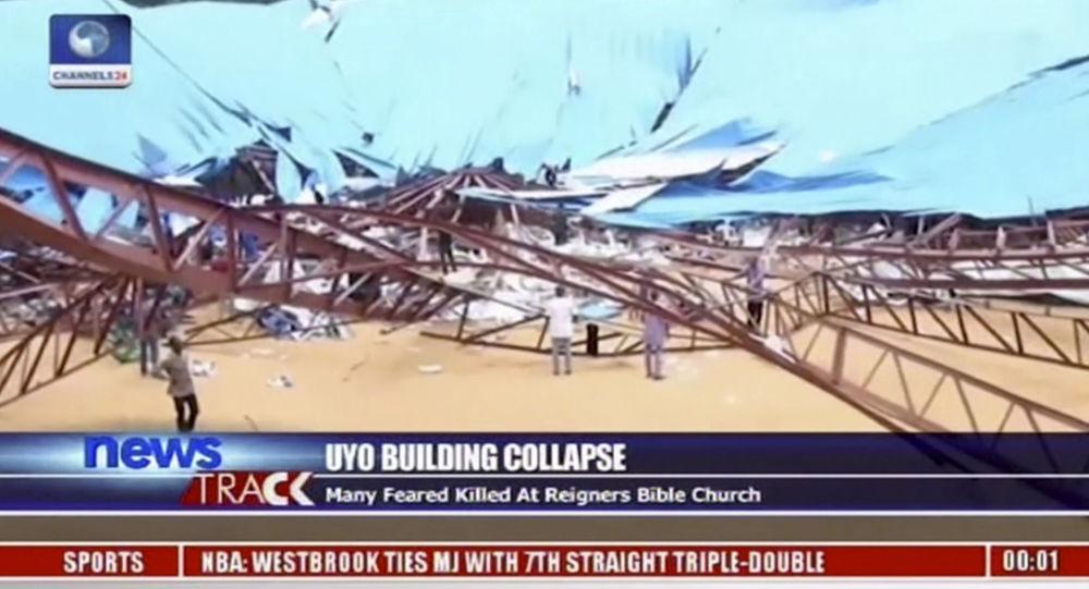 W Uyo (Nigeria) zawalił się dach w kościele