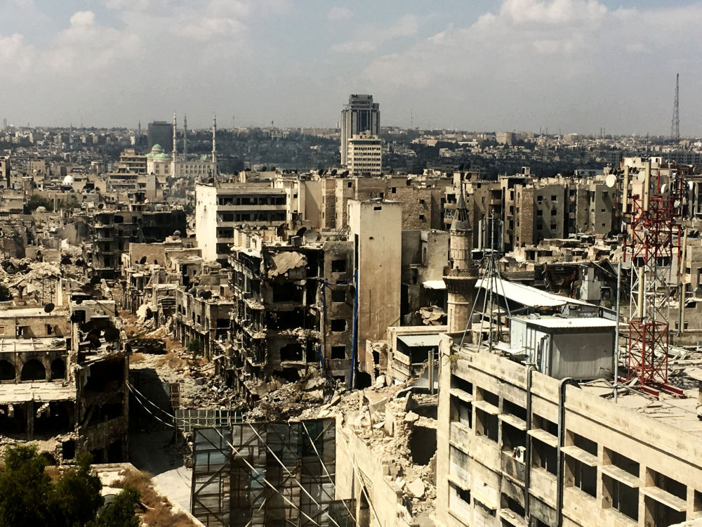 Stare Miasto w Aleppo w 2016 roku