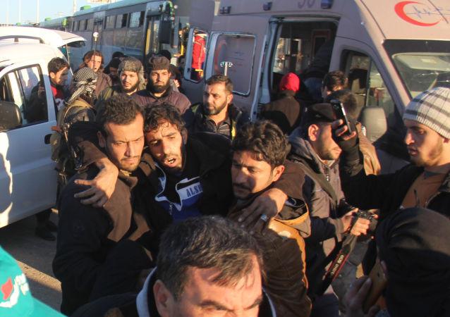 Operacja wyprowadzenia rebeliantów z Aleppo