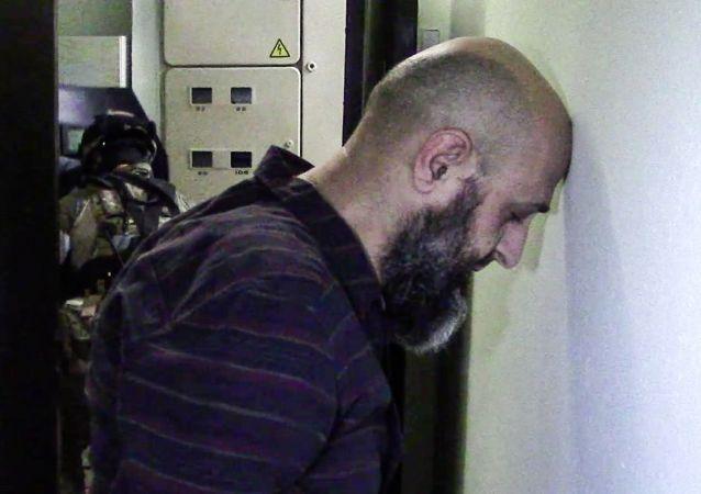 Podejrzany o przygotowywanie ataku terrorystycznego