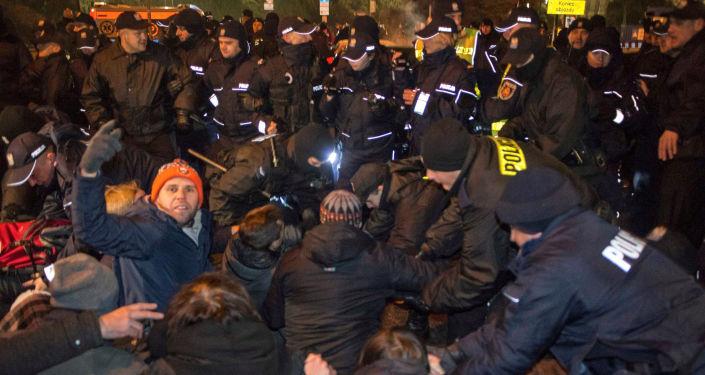 Protesty w Polsce w związku z kryzysem sejmowym, 17 grudnia 2016