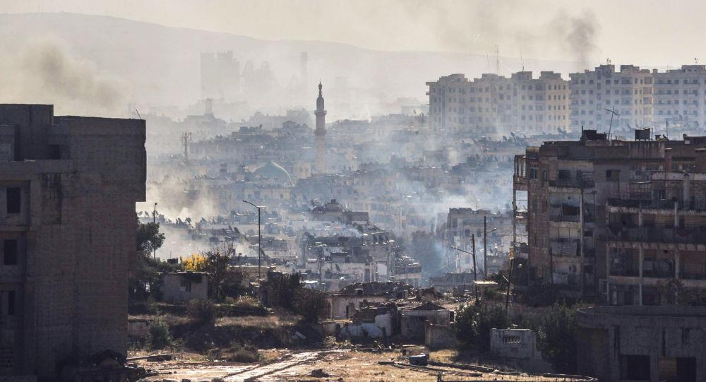 Aleppo podczas operacji wyzwalania miasta od terrorystów