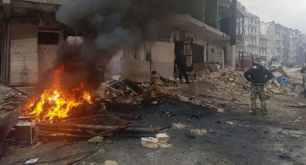 Dzielnica we Wschodnim Aleppo odbita z rąk terrorystów
