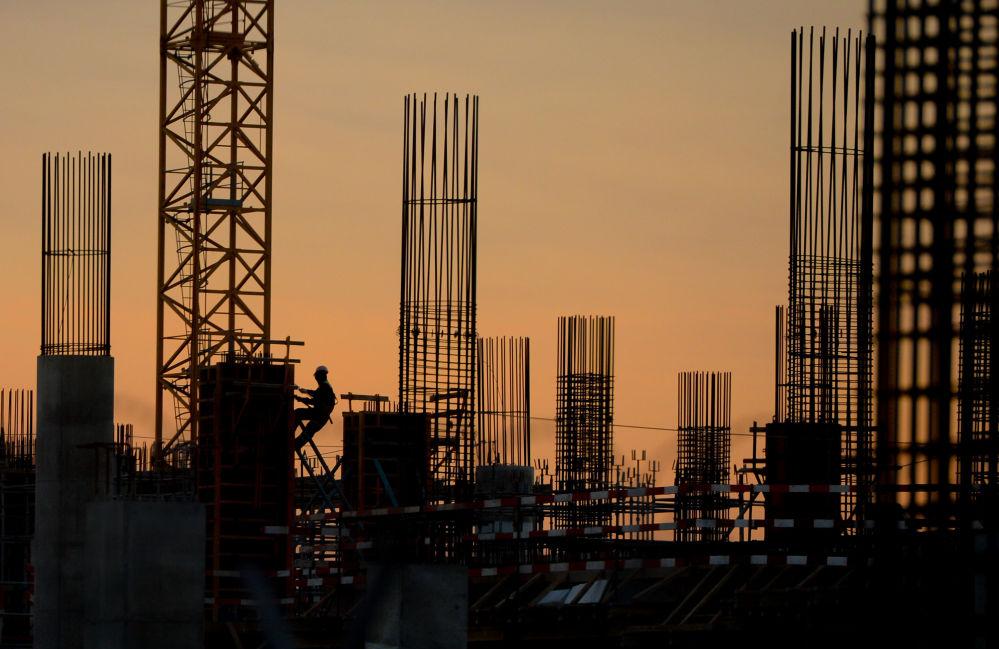 Obiekty lotniska Szeremietiewo budowane przed Mistrzostwami Świata w Piłce Nożnej 2018