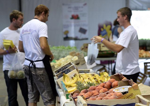Francuskie warzywa i owoce