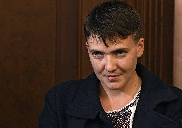 Deputowana Rady Najwyższej Nadija Sawczenko