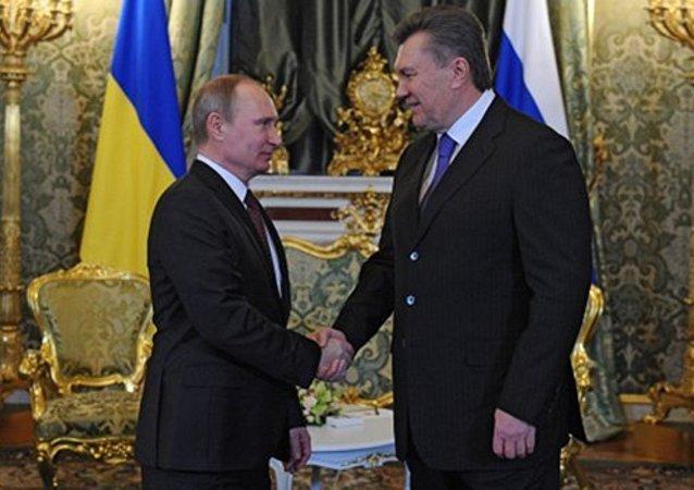 Putin i Janukowycz