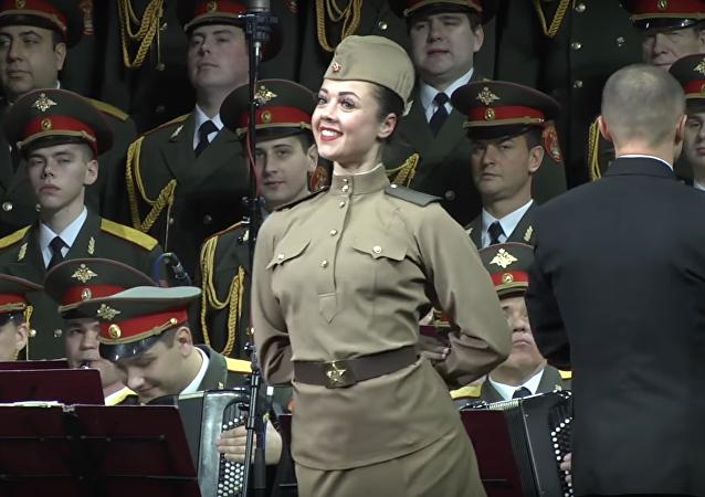 Ostatni koncert Chóru Aleksandrowa