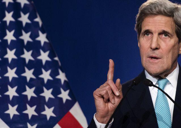 Amerykański sekretarz stanu John Kerry