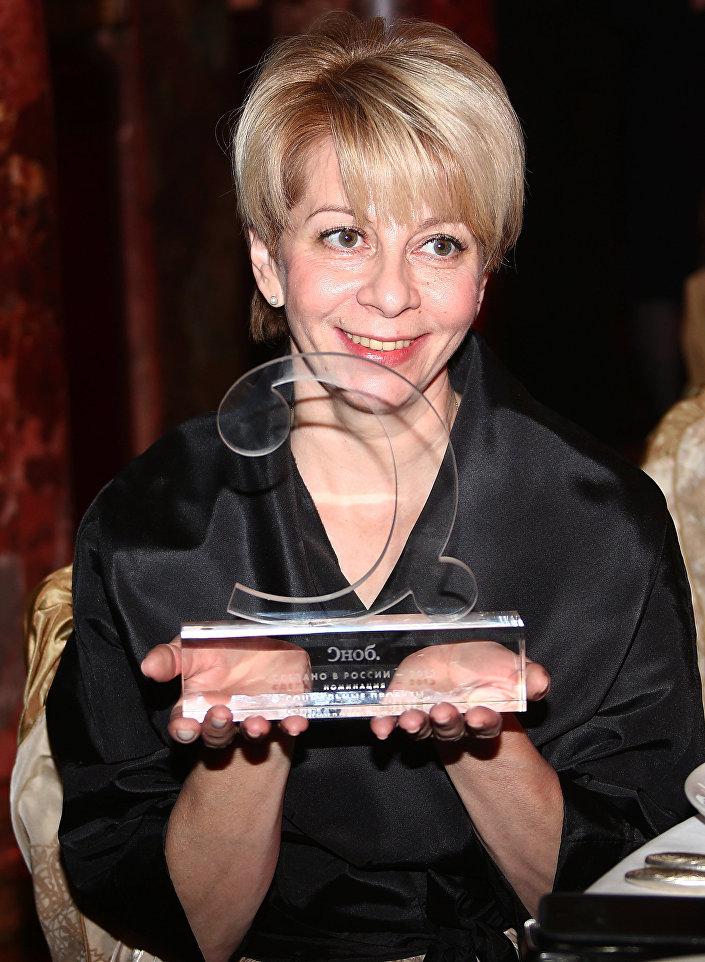 Dyrektor organizacji Sprawiedliwa Pomoc Jelizawieta Glinka, znana w Rosji jako doktor Liza.