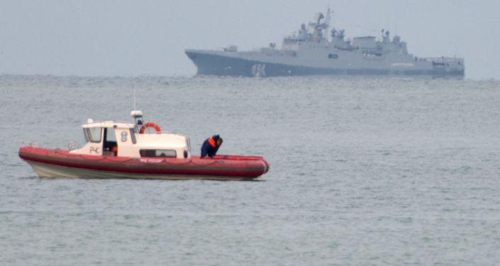 Akcja poszukiwawczo-ratownicza Tu-154 Ministerstwa Obrony Rosji u wybrzeży Morza Czarnego