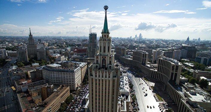 Plac Trzech Dworców w Moskwie