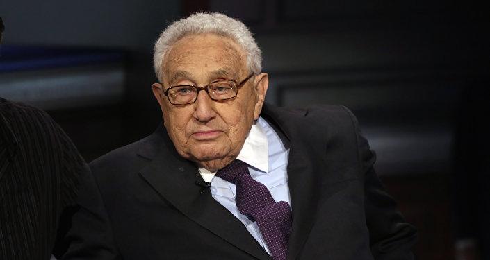 Były sekretarz stanu USA Henry Kissinger