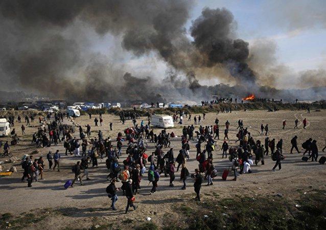 Likwidacja obozu w Calais