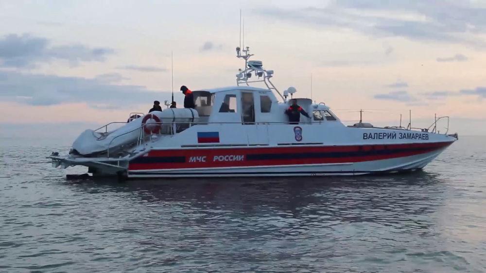 Akcja poszukiwawcza w w rejonie katastrofy Tu-154 na Morzu Czarnym