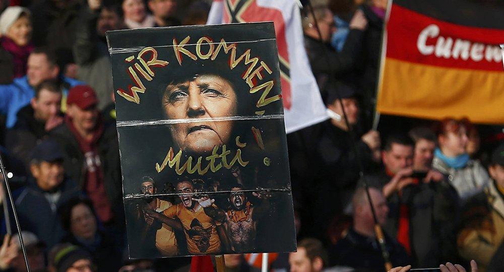 Demonstracja Pegidy, Drezno