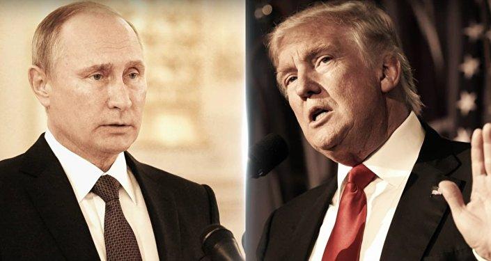 Władimir Putin i Donald Trump