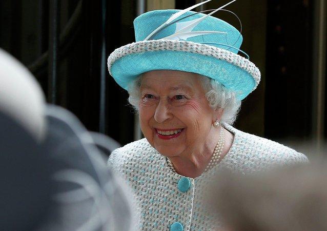 Brytyjska królowa Elżbieta II