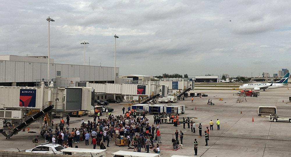 Strzelanina na lotnisku Fort Lauderdale we Florydzie