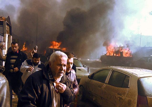 Ponad 100 osób zostało rannych w sobotnim wybuchu samochodu pułapki w syryjskiej miejscowości Azaz na północy kraju