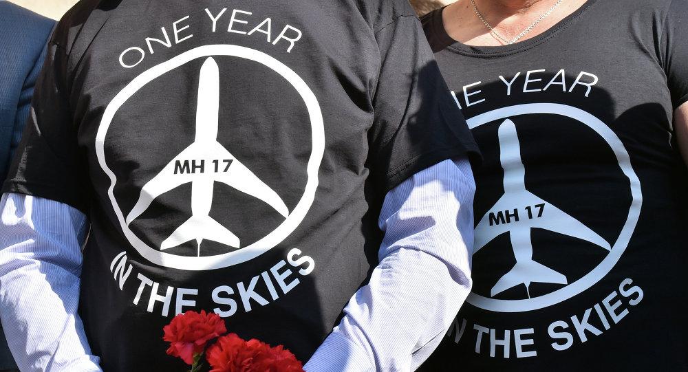 Uczczenie ofiar lotu MH17 w rocznicę katastrofy