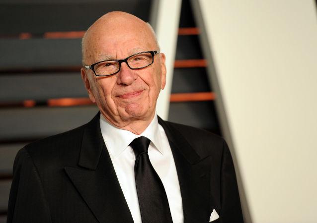 Rupert Murdoch na przyjęciu Vanity Fair