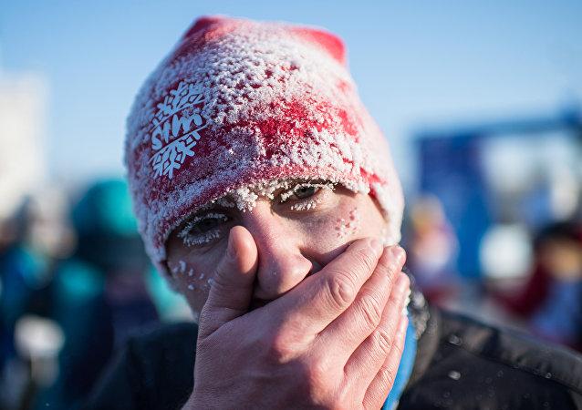 Bożonarodzeniowy półmaraton w Omsku