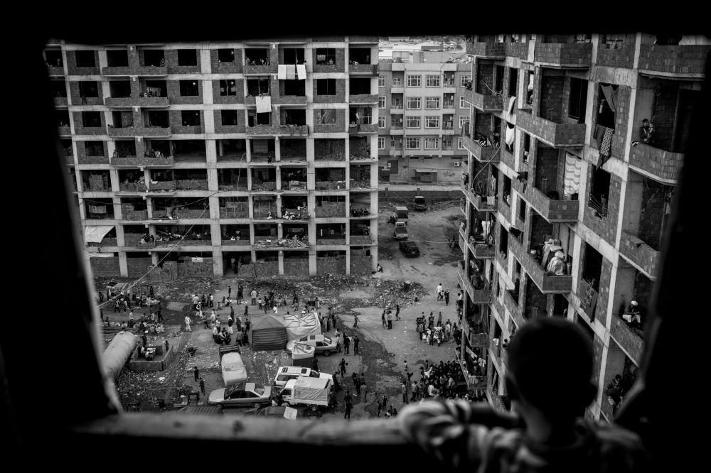 Zdjęcie niemieckiego fotografa Christiana Wernera 74, II miejsce Międzynarodowego Konkursu Fotograficznego im. Andreja Stenina w kategorii Problemy współczesności.