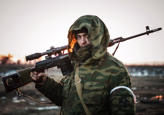 Situation in Lohvinove, Donbas