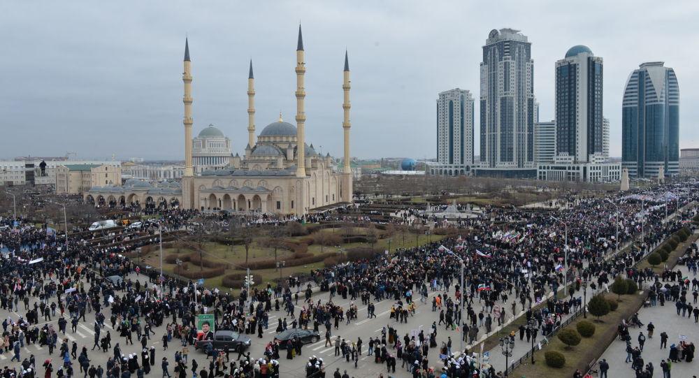 Grozny, Czeczenia