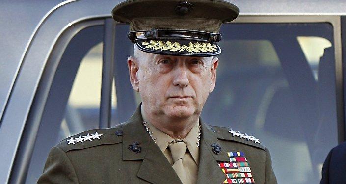 Przyszły szef Pentagonu James Mattis