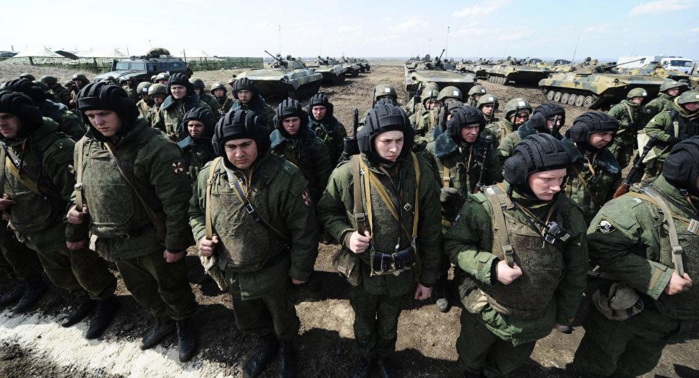 Ćwiczenia armii rosyjskiej w obwodzie rostowskim
