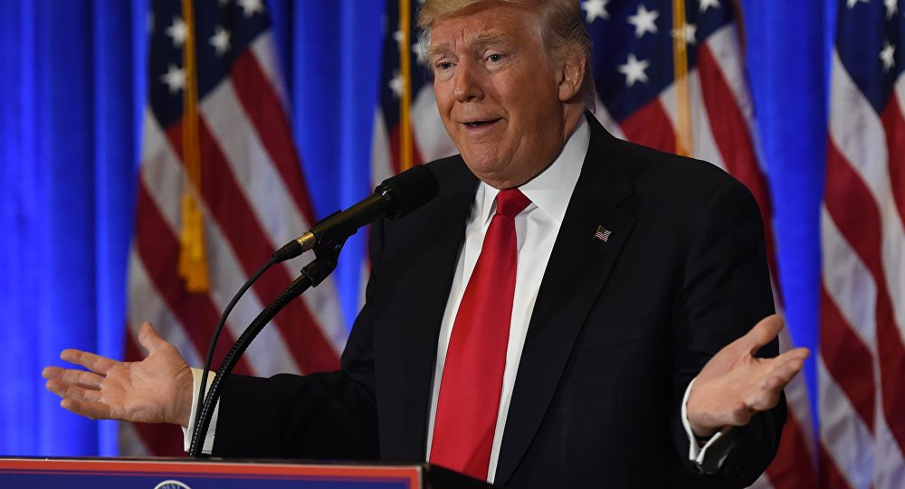 Prezydent elekt Stanów Zjednoczonych Donald Trump