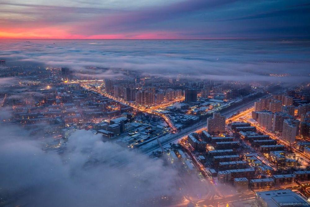 Widok od strony ulicy Szeriemietiewskiej