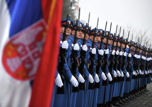 Żołnierze serbskiej armii