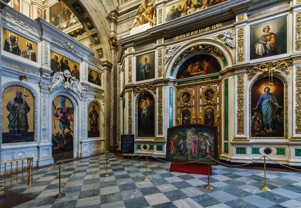Sobór świętego Izaaka w Sankt-Petersburgu.