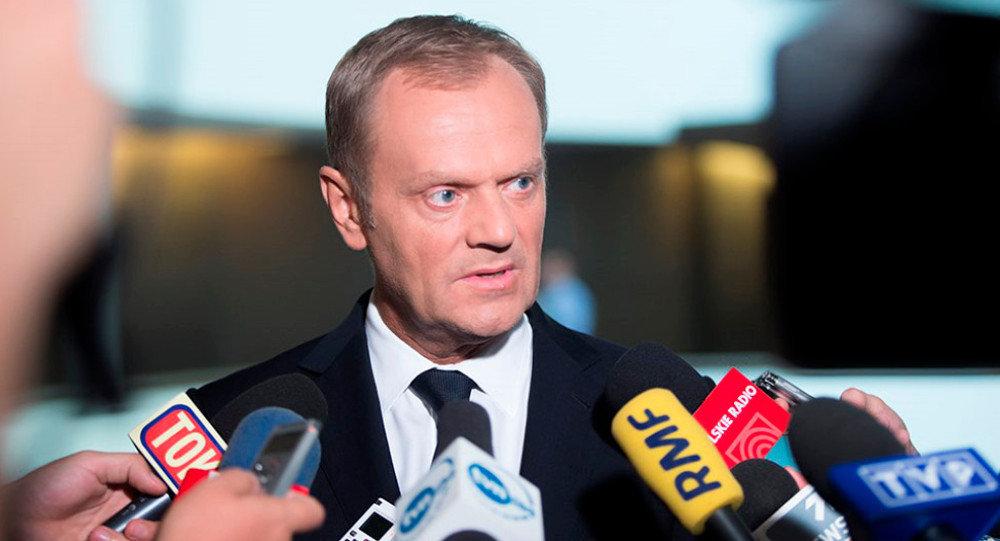 Przewodniczący Rady UE Donald Tusk