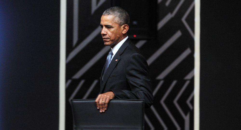 Prezydent USA Barack Obama. Zdjęcie archiwalne