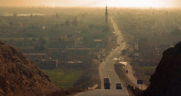 Syryjskie miasto Deir ez-Zor