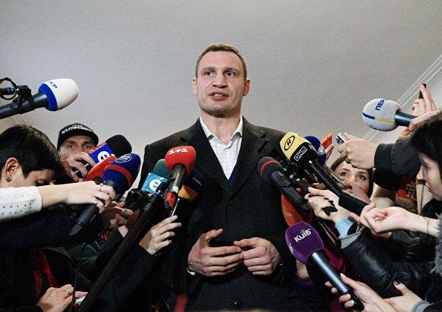 Mer Kijowa Witalij Kliczko
