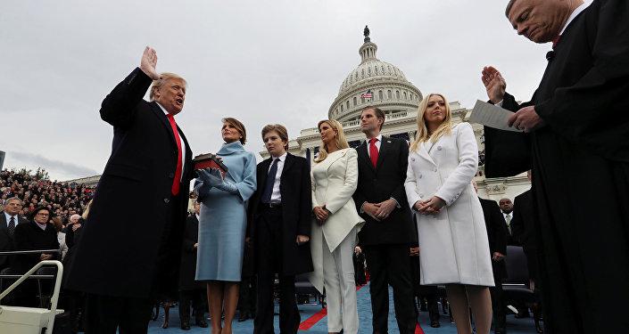 Inauguracja 45. prezydenta USA Donalda Trumpa