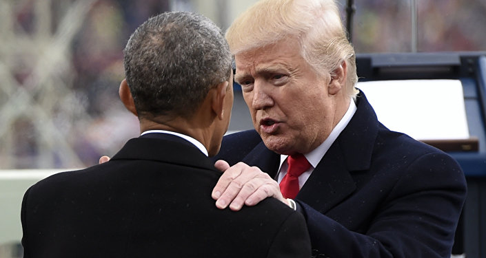 Donald Trump i Barack Obama