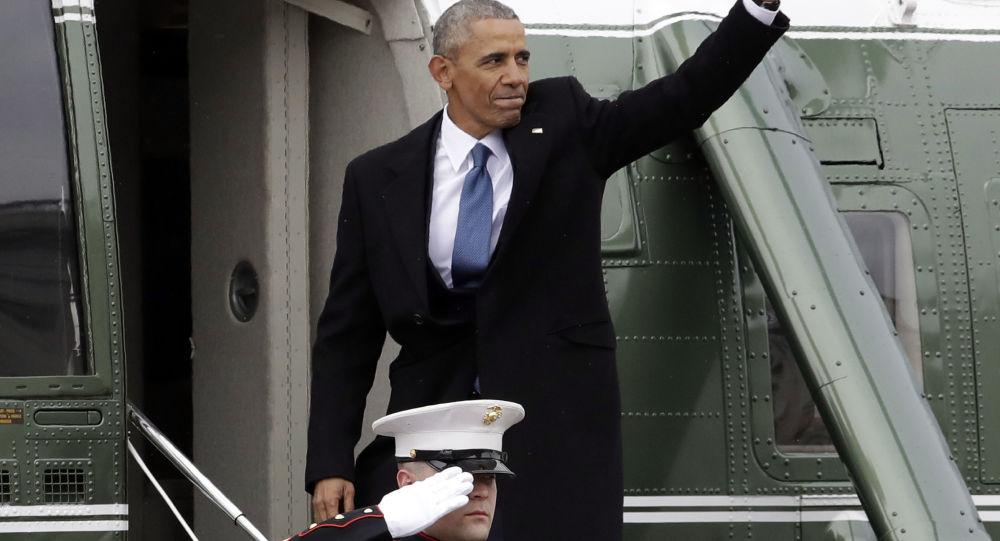 Były prezydent USA Barack Obama