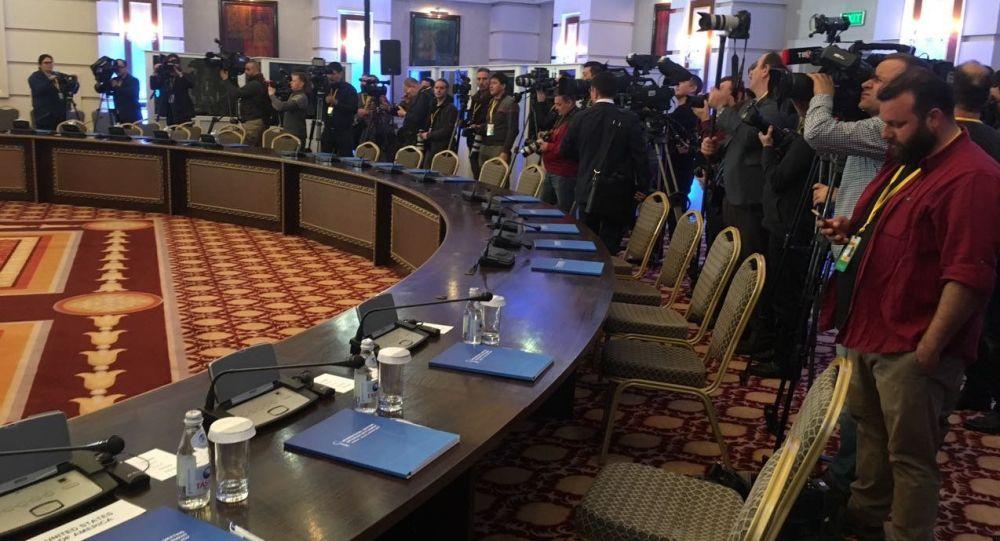 Rozmowy o przyszłości Syrii w Astanie