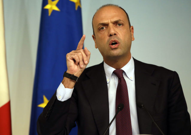 Minister spraw zagranicznych Włoch Angelino Alfano